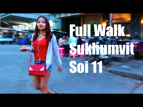 Sukhumvit Soi 11 Walk Around, Bangkok - Sept 2016