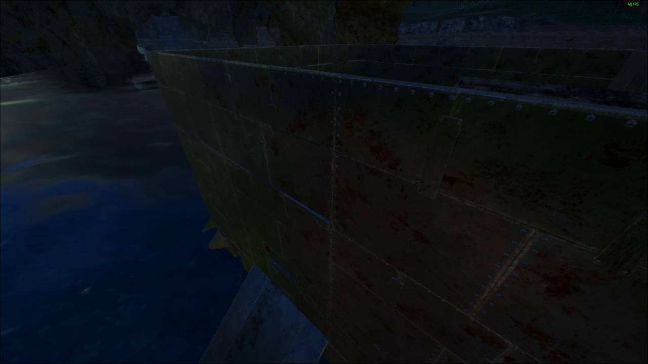 Ark: Survival Evolved  Raft stuck on nothing