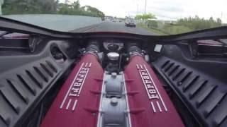 Ferrari 458 Italia Test Drive from Exotic Car Rental Miami with DJI Phantom VS