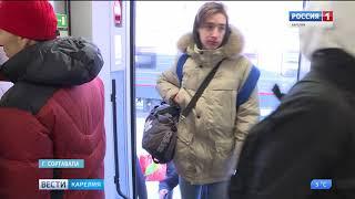 Смотреть видео Санкт-Петербург и  Суоярви свяжет Ласточка онлайн