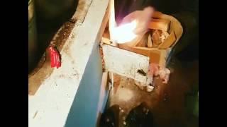 Видеоурок #1 как правильно разжигать печь