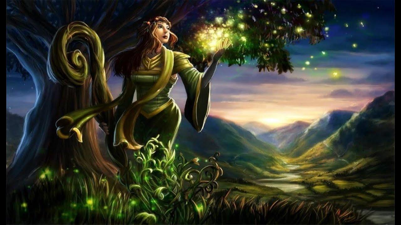 Celtic Wallpaper Hd Celtic Elf Music Sylvan Elves Youtube