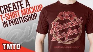 Photoshop-Tutorials: Erstellen Sie einen Realistischen T-Shirt Mockup in Photoshop