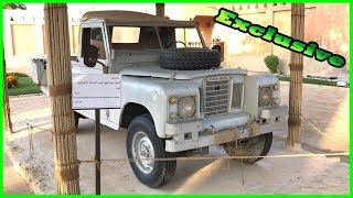 The First Car of Sheikh Zayed - Land Rover Review 2018. First Vehicle in Al Ain Palace Museum