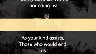 Trivium-To Believe (with lyrics)