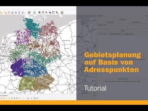 (Tutorial) Gebietsplanung mit Software WIGeo ATP: Planung auf Basis von Adresspunkten thumbnail