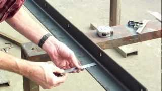 3 Of 5: Diy Table Saw Guide Rails For A Biesemeyer Style Table Saw - Marking, Drilling & Milling