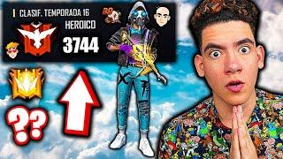 EN BUSCA DE LOS 3800 PUNTOS EN FREE FIRE !! LLEGARE A GRAN MAESTRO ? | TheDonato
