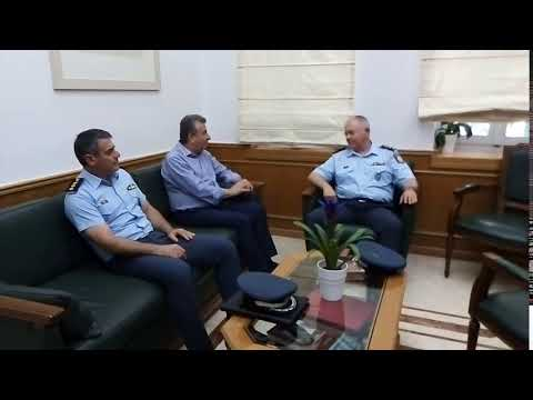 Στον Περιφερειάρχη ο νέος Αστυνομικός Διευθυντής Κρήτης