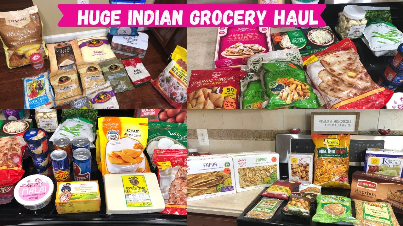 INDIAN GROCERY STOCK UP FOR 2ED WAVE OF PANDEMIC / INDIAN NRI HUGE GROCERY SHOPPING HAUL WITH PRICE