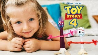 Making Forky from Toy Story 4 DIY Crafty Kids Project Forky has a girlfriend