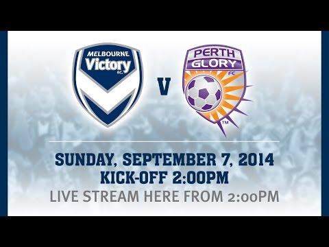 Melbourne Victory v Perth Glory pre-season friendly