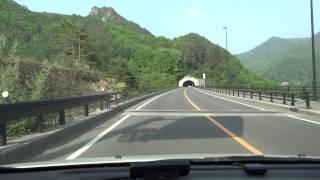 国道145号 八ッ場バイパス車載動画 群馬大津〜吾妻渓谷入口