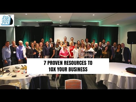 7 Proven Resources to 10X Your Business