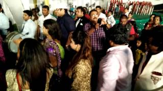 Adarsh Shinde Wedding