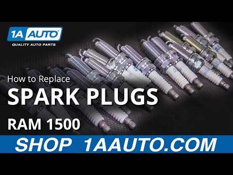 How to Replace Spark Plugs 09-18 RAM 1500