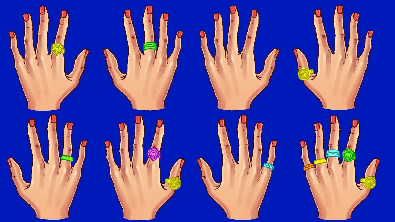Welche bedeutung haben ringe am finger