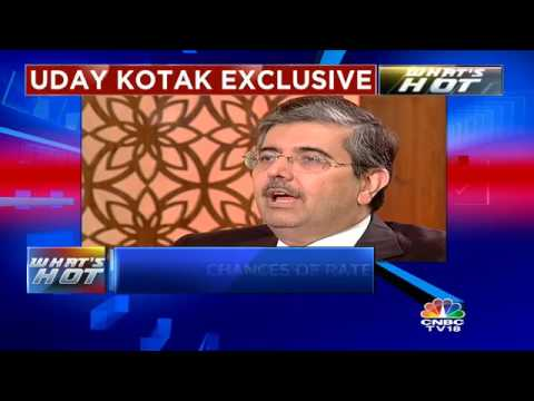 UDAY KOTAK EXCLUSIVE: 'Max Rate Cut Possible This Year = 25 Bps'