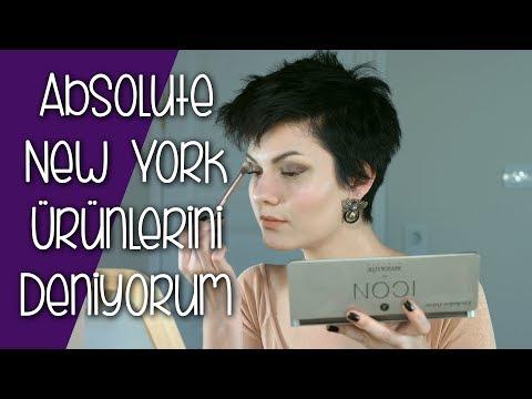 Yeni Absolute New York Ürünlerini Deniyorum | Absolute New York Detaylı Ürün Yorumları