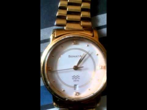 See the watch running anti clock