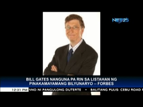 Bill Gates, still number one billionaire in the world   Forbes