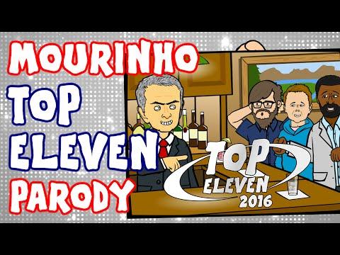 PARODY TOP ELEVEN ADVERT feat. José MOURINHO! (plus Cristiano Ronaldo, Hodgson, David Beckham)