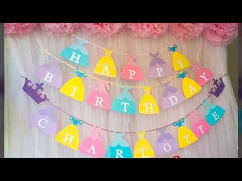 Birthday Banner design Ideas/How to Create a Diy Birthday Banner for Birthday Party
