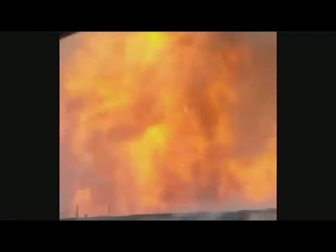 Several injured in Fresno gas line explosion