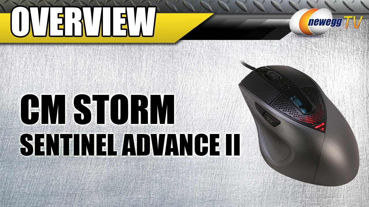 d7e061a4ba9 Newegg TV: COOLER MASTER CM Storm Sentinel Advance II Wired Laser 8200 dpi  Mouse Overview - YouTube