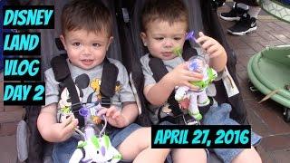 Disneyland vlog Day 2, April 27, 2016