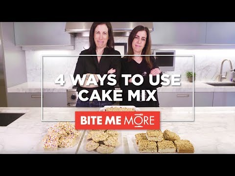DESSERT RECIPE - 4 Easy & Unique Ways To Use Cake Mix