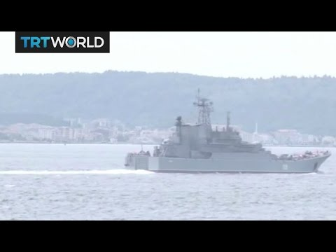 Breaking News: Russian warship crashes off coast of Istanbul