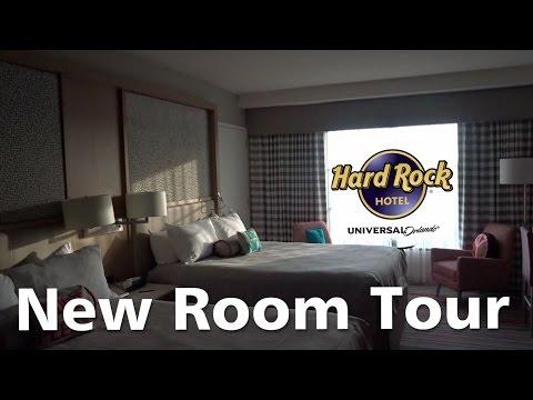 Arriving at Hard Rock Hotel Orlando. New Renovated Room Tour. Universal Resort OnSite Hotel