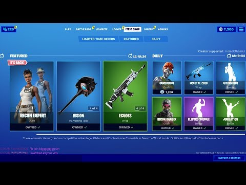 Recon Expert IS BACK!
