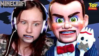 BENSON KIDNAPPED FORKY IN MINECRAFT!! (Toy Story 4 Gameplay)