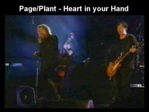 Jimmy Page and Robert Plant  Heart In Your Hand Bizarre Festival 1998