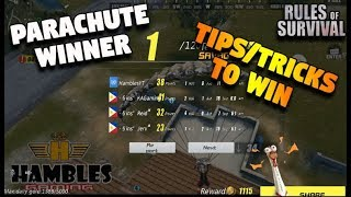 THE BEST WAY TO WIN ANY BATTLES ON ROS (Rules of Survival: Battle Royale)