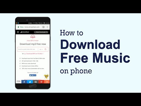 How To Download Free Music On The Phone (working 2019)
