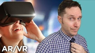 Augmented Reality Vs. Virtual Reality | Answers With Joe