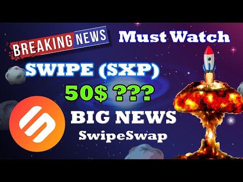 Swipe SXP Price Prediction 2021 | SwipeSwap Mainnet Launch