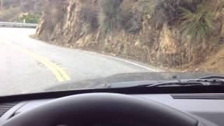 Driving the Malibu Canyon Road. Dead Man