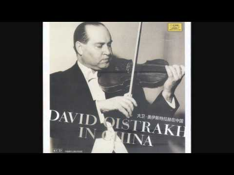 David Oistrakh - Beethoven Violin Concerto in D major, 1. Allegro ma non troppo