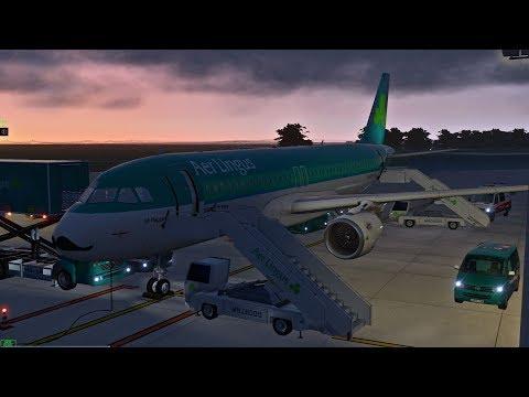 [X-Plane 11] Dublin (EIDW) - Manchester (EGCC) | A320