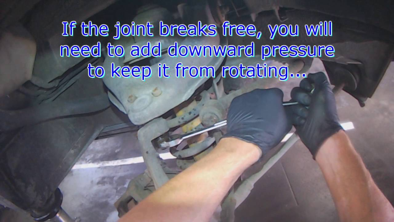 VW T3: Front upper ball joint replacement