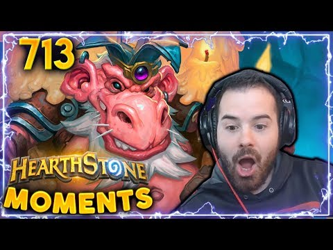 SHOCKING TROLL COMBO!! | Hearthstone Daily Moments Ep. 713
