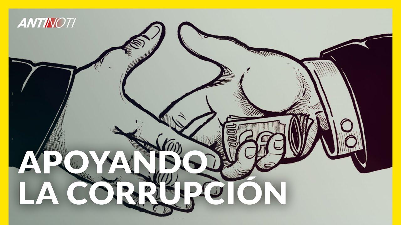 Apoyando La Corrupción | Editorial Antinoti