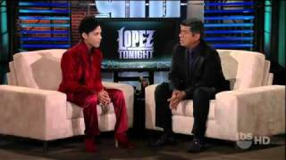 Prince Interview On George Lopez 2011 MP3