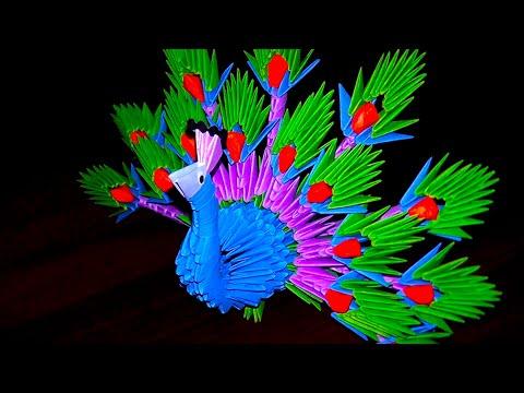 Модульное оригами павлин (царь