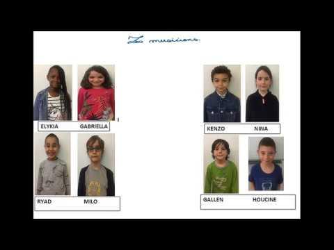La forêt en musique - Maison de l'enfance Charlotte Delbo - Dispositif 10-13 ans