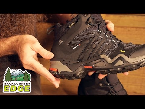 7e8264df5 Adidas Outdoor Men s Terrex Fast X High GTX Hiking Boots - YouTube